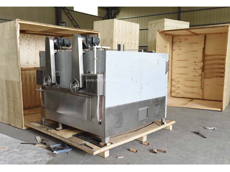 Peanut roaster machine
