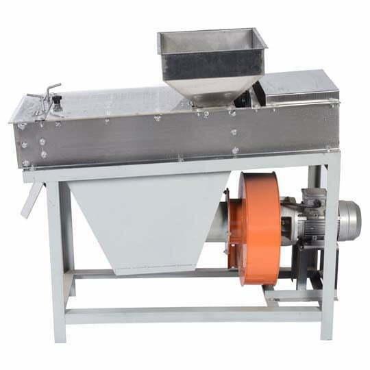 peanut dry peeling machine
