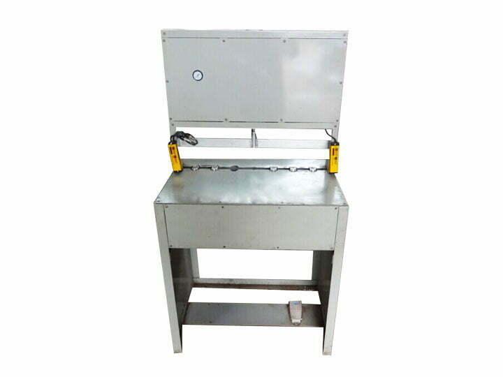 semi-automatic cashew cracker machine