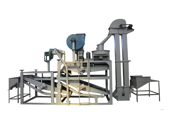 automatic seed shelling machine