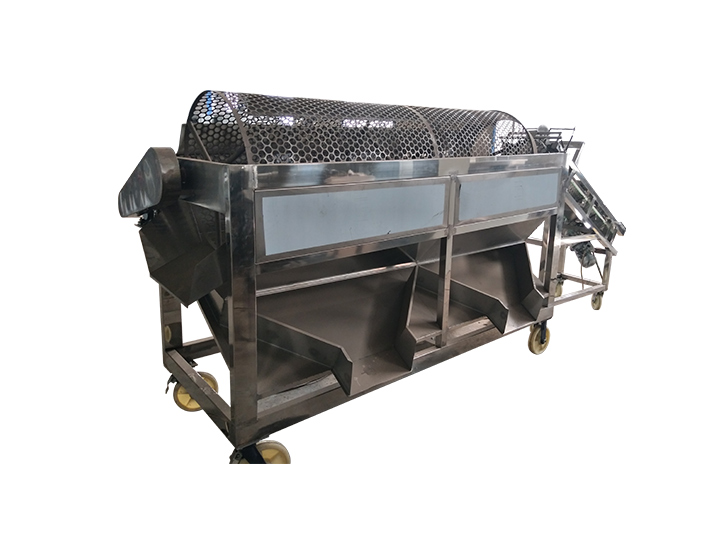 cocoa bean separation machine