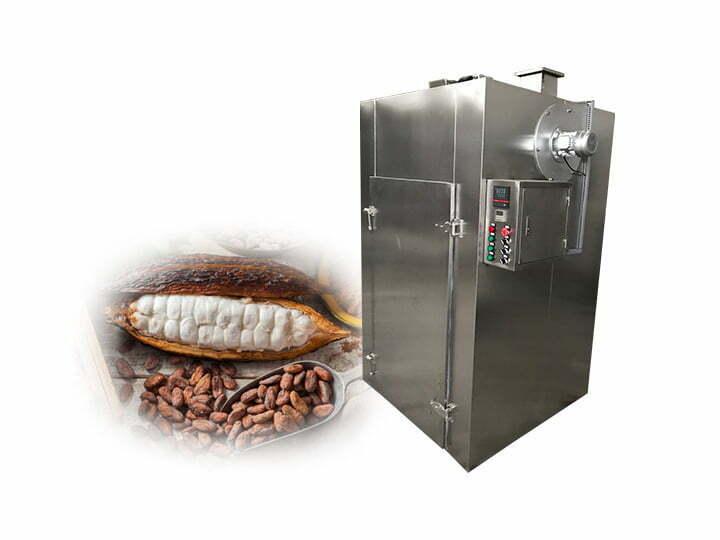 cocoa beans dryer machine