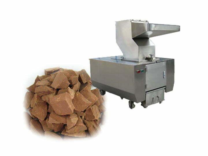 cocoa cake breaking machine