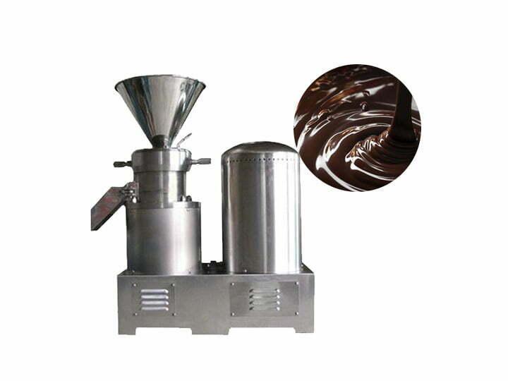 cocoa paste grinder machine