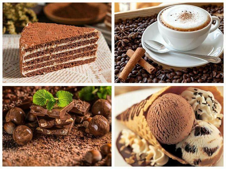 cocoa powder application