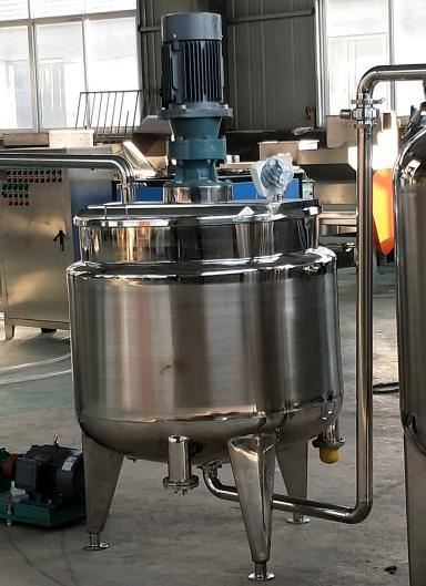 mixing machine in peanut butter production line