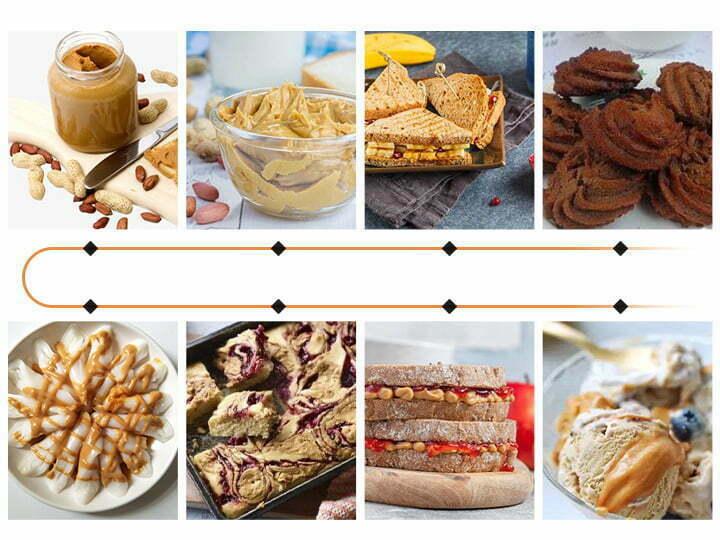 peanut butter application scenes