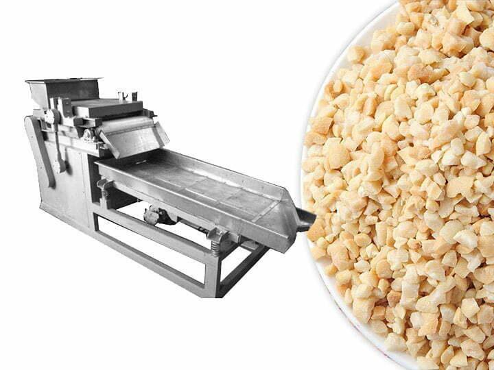 almond kernel crushing machine