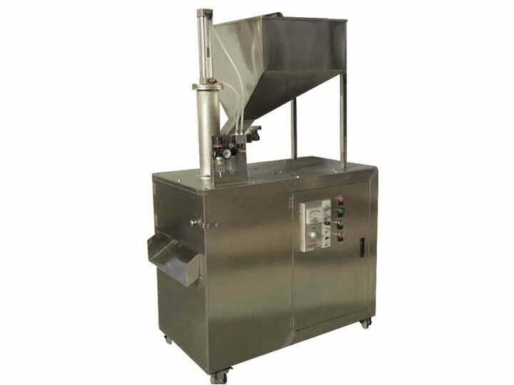almond slice cutting machine