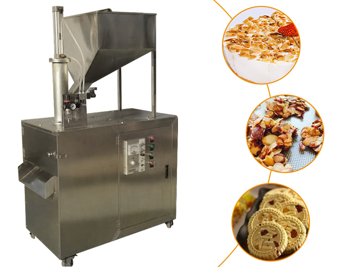 almond slicer machine application