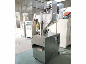 almond slicer machine work