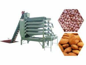 peanut kernel grading and sorting machine