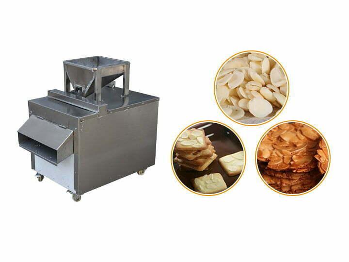 peanut slice cutting machine