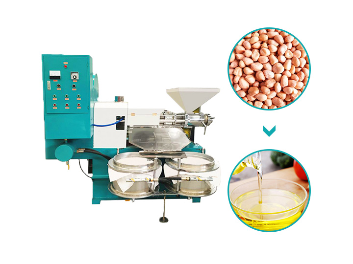 commercial screw oil press machine