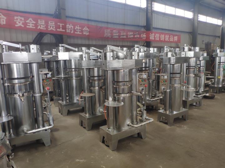 hydraulic oil extraction machin stocks