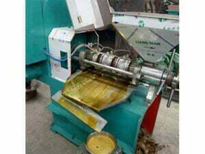 peanut oil press machine running in Nigeria