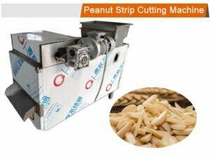 peanut strip cutting machine