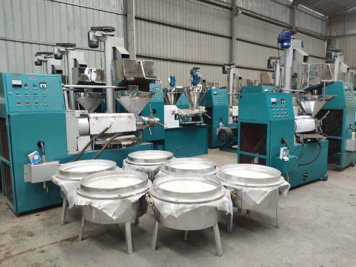 screw oil hot press machine stock