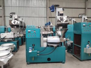 screw peanut oil press machine