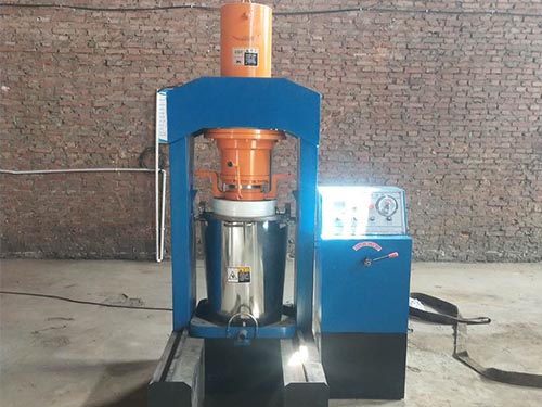 vertical hydraulic oil press machine