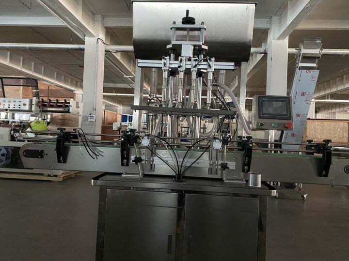 walnut oil filling machine