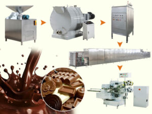 automatic chocolate production line