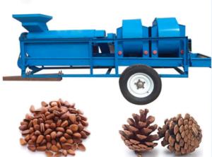 pine cone thresher machine