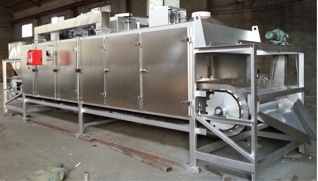 TY-500 conveyor belt baking oven