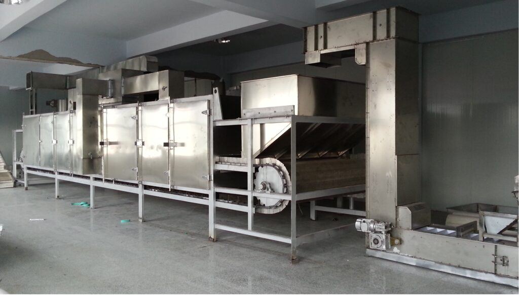 TZ-1000 continuous roasting oven