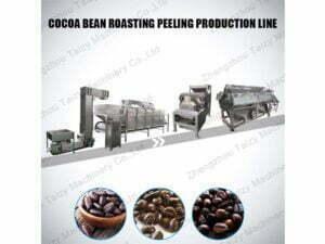 cocoa bean processing line