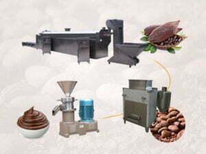cocoa liquor plant