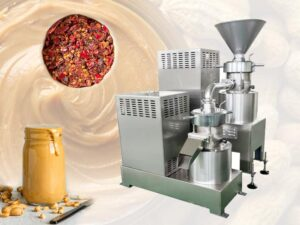 Multi-functional Peanut Butter Colloid Mill Machine