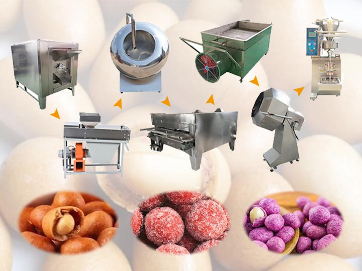 Peanut Coating Production Line 200kg