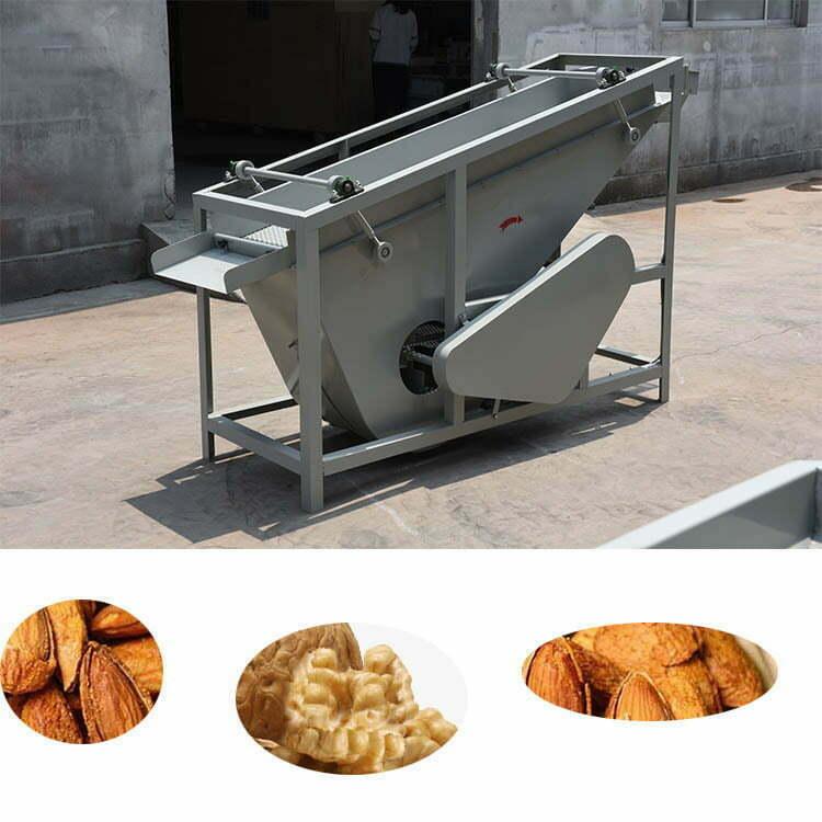 almond shell separator
