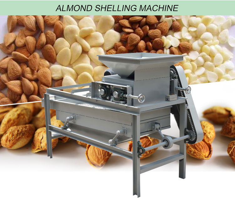 almond shelling machine
