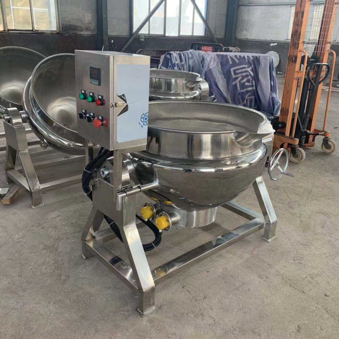 jacketed pot without mixing function