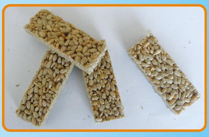 sunflower seed bar