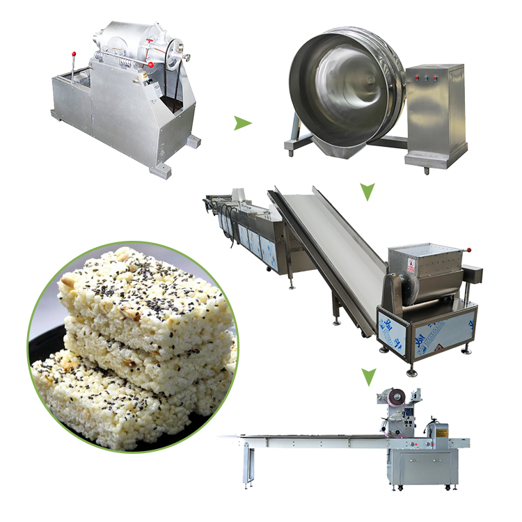 puffed rice cake production line