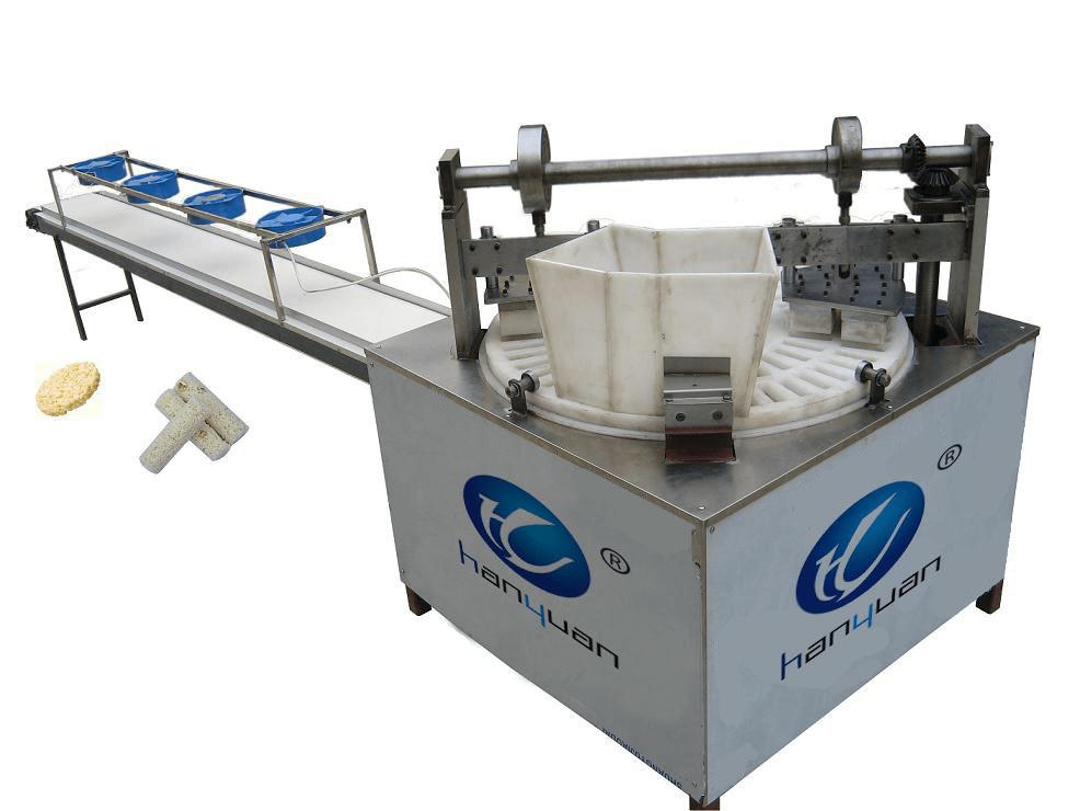 puffed rice cake rotary molding machine