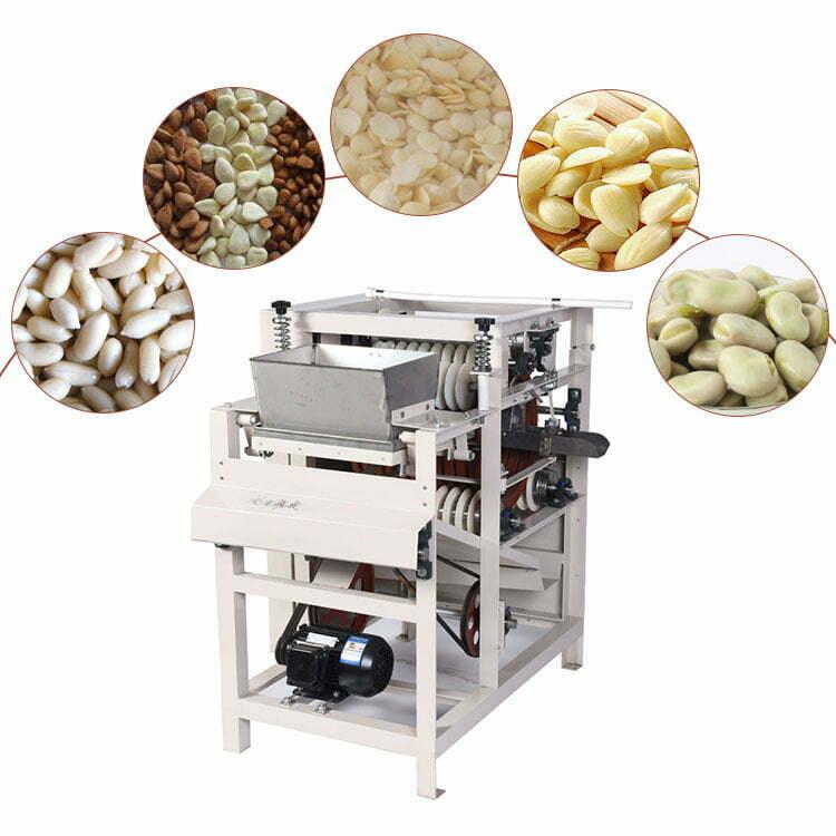 wet almond peeling machine