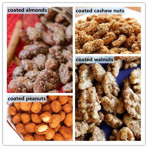 coated peanuts application